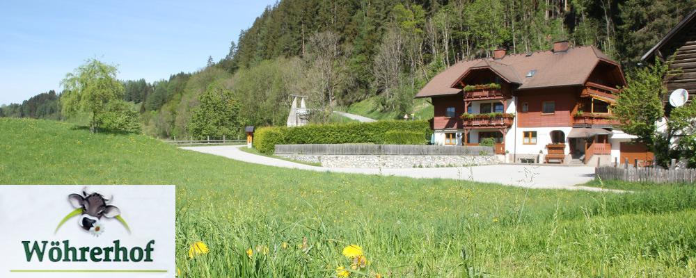 Wöhrerhof im Frühling